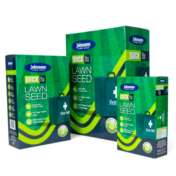 Johnsons Lawn Seed Quick Fix With Growmore