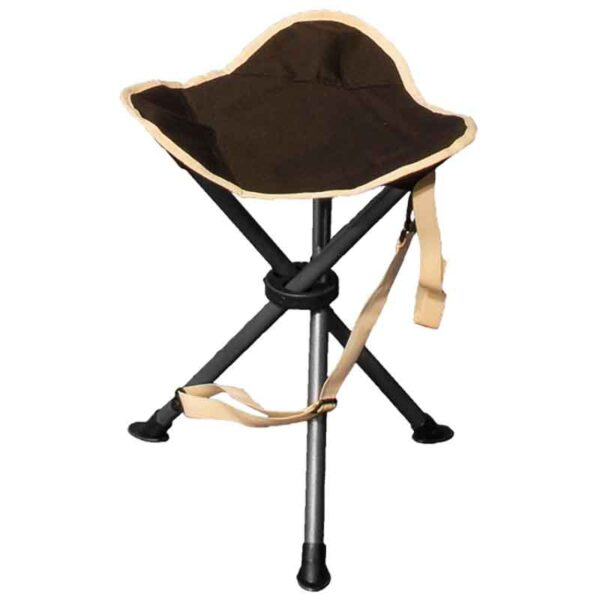 Quest Autograph Devon Stool and Foot Rest in Black and Grey
