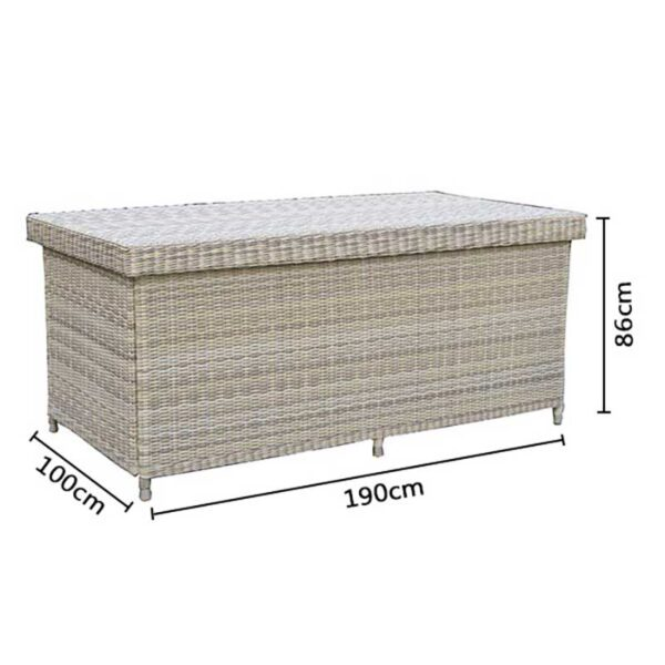 Bramblecrest Ascot Large Cushion / Storage Box Dimensions