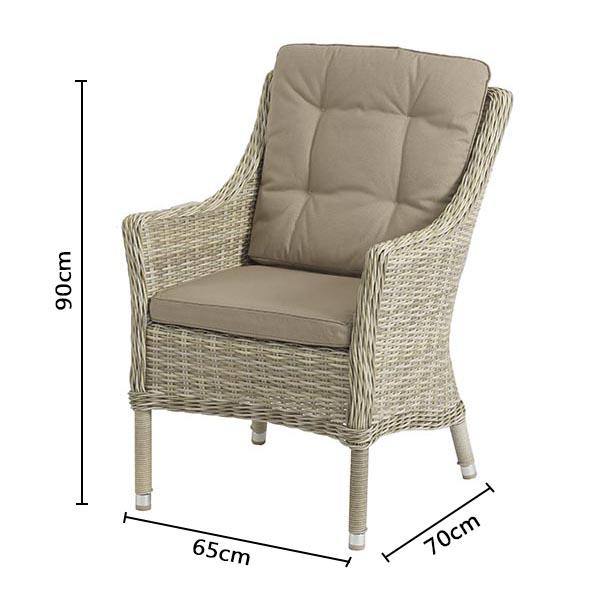 Bramblecrest Ascot Armchair Dimensions