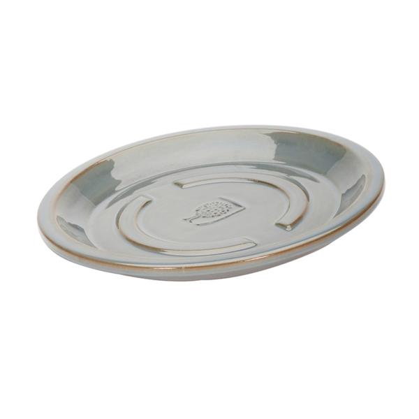 RHS Classic Antique Grey Round Saucer