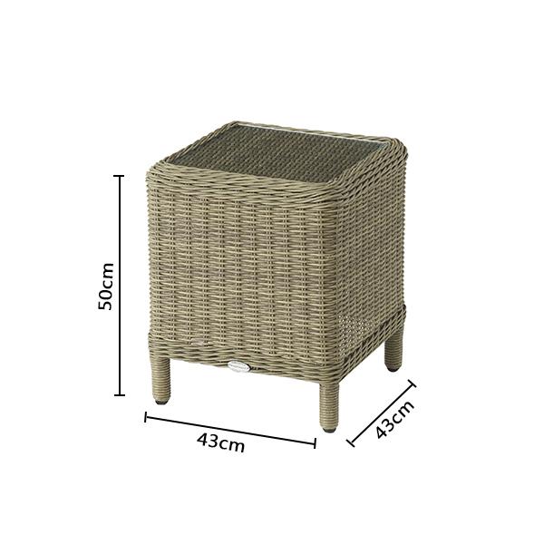 Bramblecrest Oakridge High Coffee Table Rkst2 Dimensions