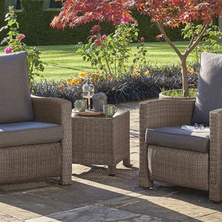 Palma Duo Relaxer Set in Rattan
