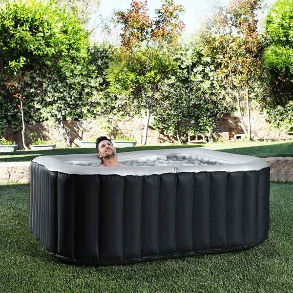 Relax in the MSpa Delight Alpine Inflatable Hot Tub