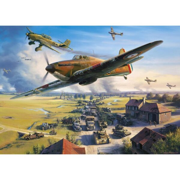 Gibsons Road to Dunkirk 1000 Piece Jigsaw Puzzle