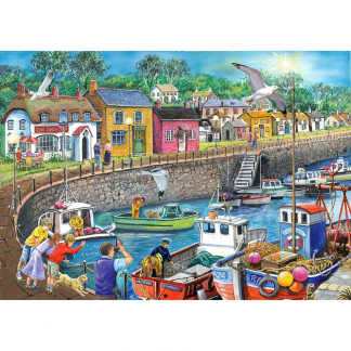 House Of Puzzles Seagull View 250 Piece Jigsaw