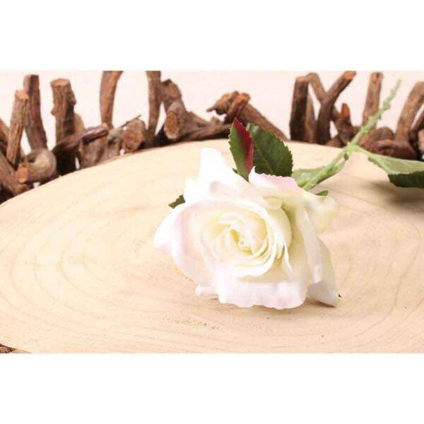 Richmond Cream Rose Stem (42cm)