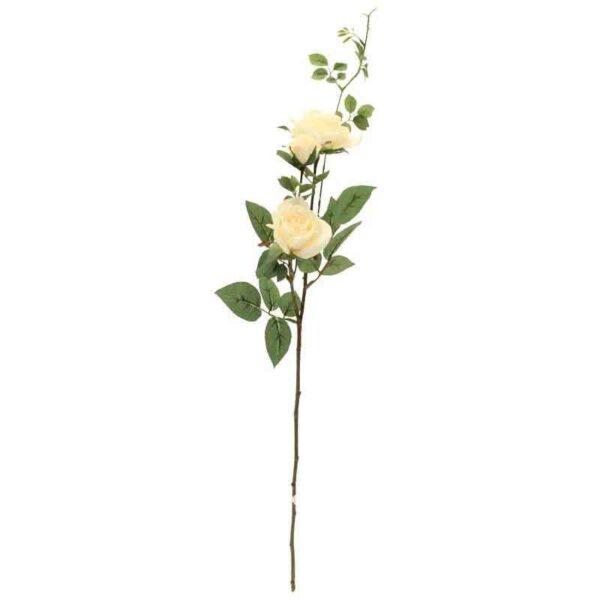 Hamilton Cream Rose Spray Stem2 Heads