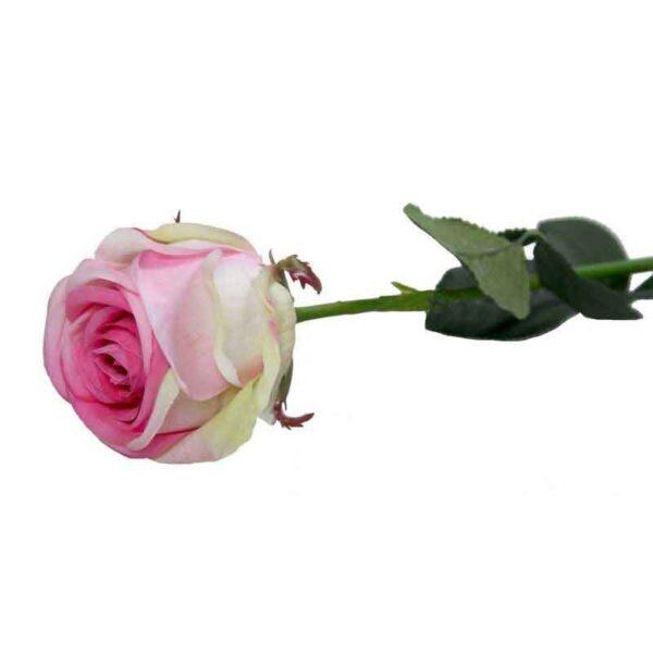 Medium Camelot Blush Pink Rose Bud Stem (86cm)