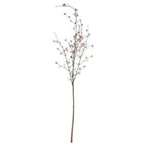Small Pink Blossom Spray Stem