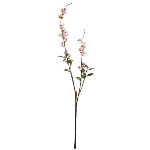 Pink Pearl Cherry Blossom Spray Stem (115cm)