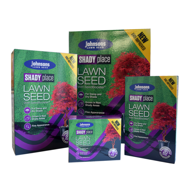 Johnsons SHADY place Lawn Seed