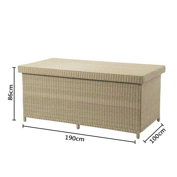 Bramblecrest Oakridge Large Cushion Box DImensions