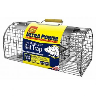 The Big Cheese Ultra Power Live Multi-Catch Rat Trap