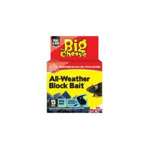 The Big Cheese All-Weather Block Bait² (Pack of 15)