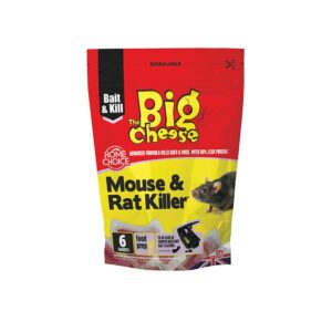 The Big Cheese Mouse & Rat Killer² (Pack of Six)