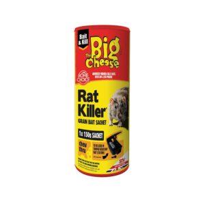 The Big Cheese Rat Killer² Grain Bait (150g Sachet)