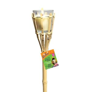 The Buzz Citronella Bamboo Torch (1 metre)