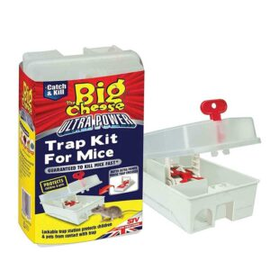The Big Cheese Ultra Power Mouse Trap Kit