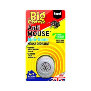 The Big Cheese Anti Mouse Mini Sonic Mouse Repellent