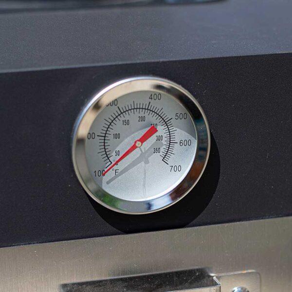 Salona Multi-Function Pizza Oven temperature gauge