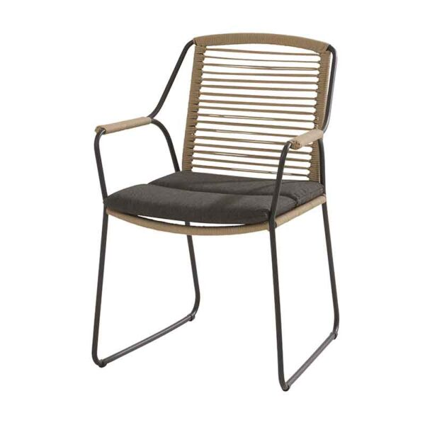 Scandic dining chair with cushion