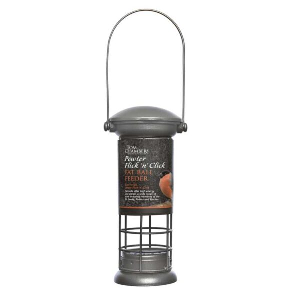 An easy to fill sunflower hearts feeder for attracting a wide range of birds.