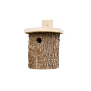 Wildlife World Natural Log Tit Box