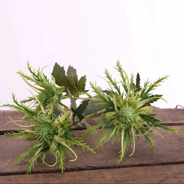 Green Wild Sea Holly Stem (67cm)