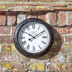 Smart Garden Outside In Biarritz 12 Inch Wall Clock