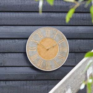 Smart Garden Outside In Horus Wall Clock Lifestyle