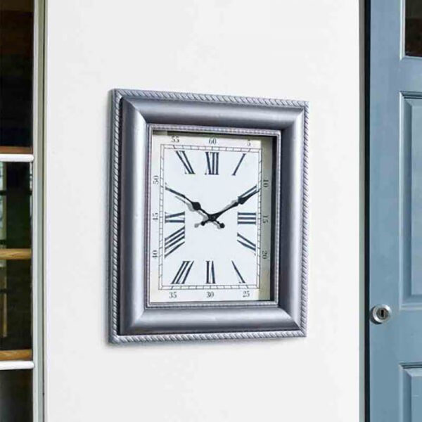 Smart Garden Outside In Quadrant Wall Clock lifestyle
