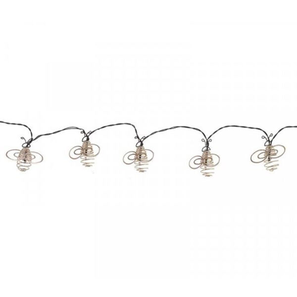 Smart Solar 10 LED Bee String Lights Product