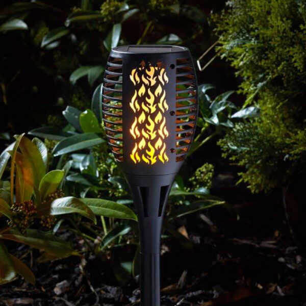 Smart Solar Compact Flaming Torch Light Lifestyle 2