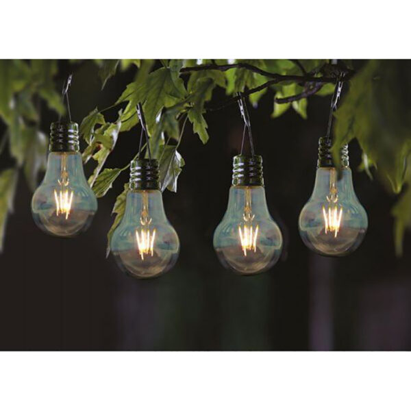 Smart Solar Eureka Retro Lightbulbs 4 Pack Lifestyle