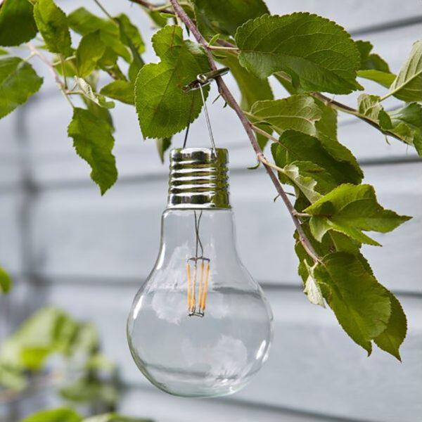 Smart Solar Eureka Retro Lightbulbs 4 Pack Lifestyle day