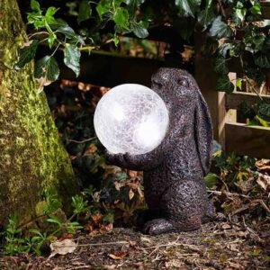 Smartb Solar Hare Magic Garden Ornament Lifestyle Night