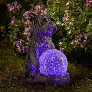 Smart Solar Mystic Dog Garden Ornament Lifestyle