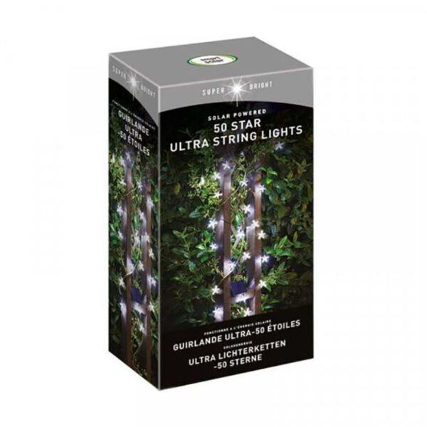 Smart Solar Super Bright 50 LED Star String Lights product
