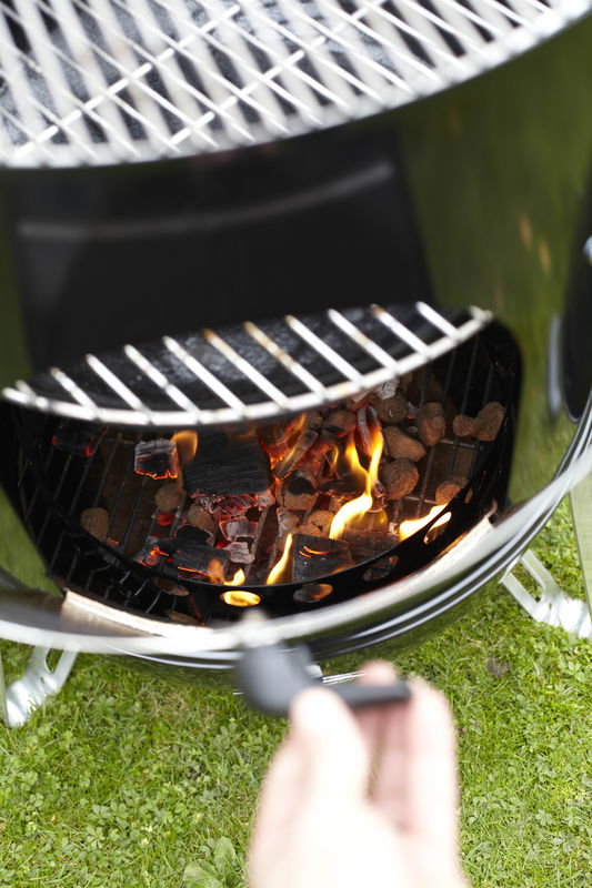Smokey Mountain Cooker with fuel