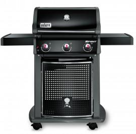 46410004A13 2013 Weber Spirit E310 Classic Gas Grill LP Black EU Product Straight On