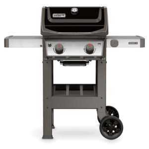 Weber Spirit II E-210 GBS Gas Barbecue with Black Enamel Lid