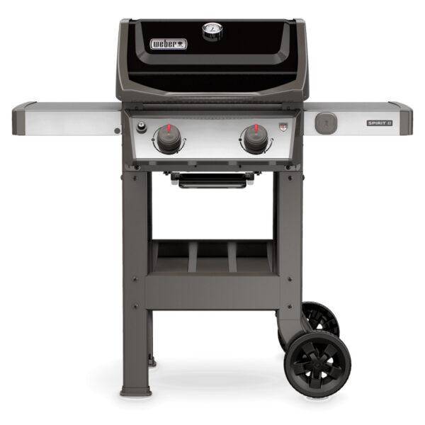 Weber Spirit II E-210 GBS Gas Grill Barbecue (Black)