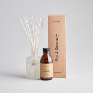 St Eval Reed Diffuser Bay & Rosemary 800px