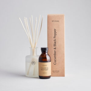 St Eval Reed Diffuser Cucumber & Black Pepper 800px