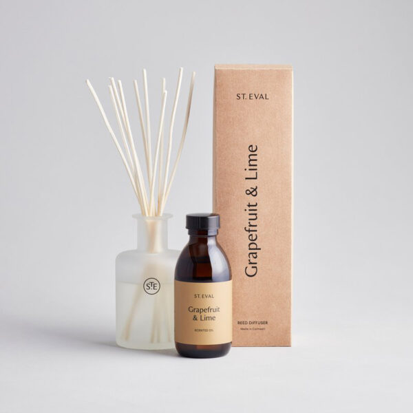 St Eval Reed Diffuser Grapefruit & Lime 800px