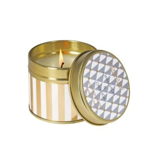 Stoneglow Cinnamon & Orange Scented Candle Tin (1 wick)
