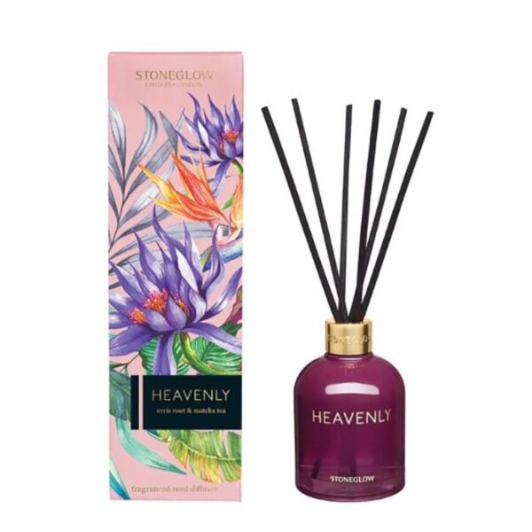 Stoneglow Infusion Heavenly Orris Root & Matcha Tea Reed Diffuser