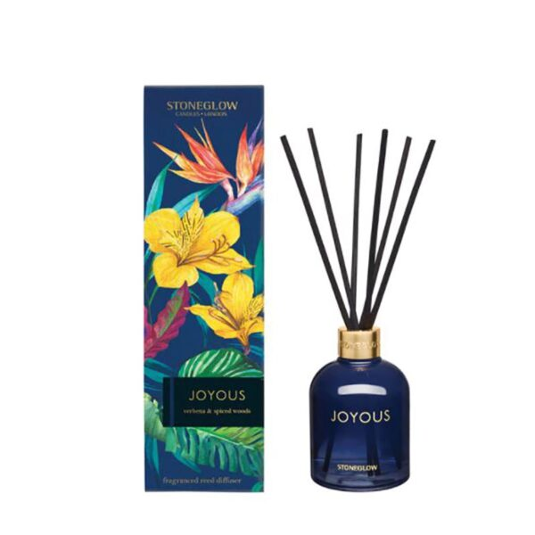 Stoneglow Infusion Joyous Verbena & Spiced Woods Reed Diffuser