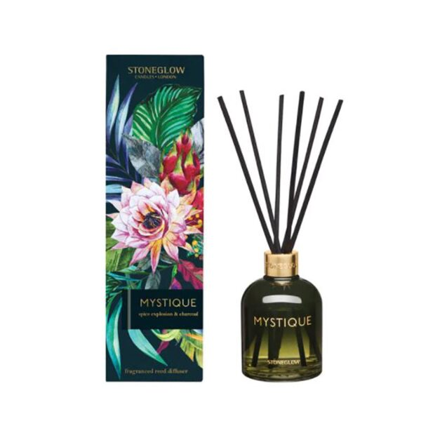 Stoneglow Infusion Mystique Spice Explosion & Charcoal Reed Diffuser
